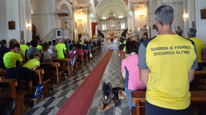 Finanziari a Cuglieri per San Matteo - chiesa