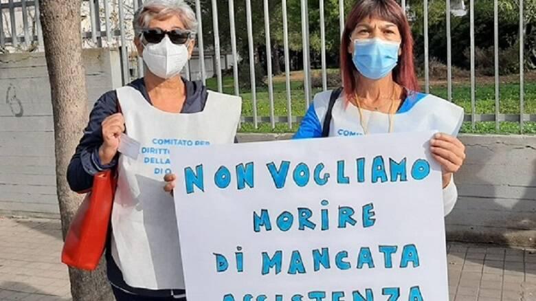 Le dottoresse Maria Carmela Marras e Gisella Masala, referenti del Comitato salute oristanese