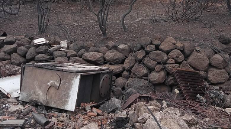 Uno dei siti bonificati nell'agro di Cuglieri
