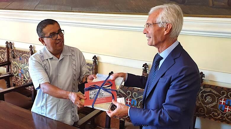 Ambasciatore Costa Rica Enrico Massidda Camera di commercio di Cagliari Oristano