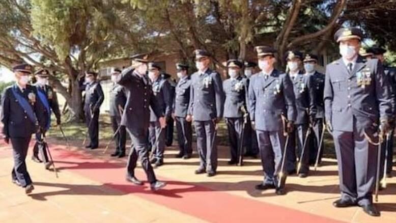 Capo Frasca comandante Degortes