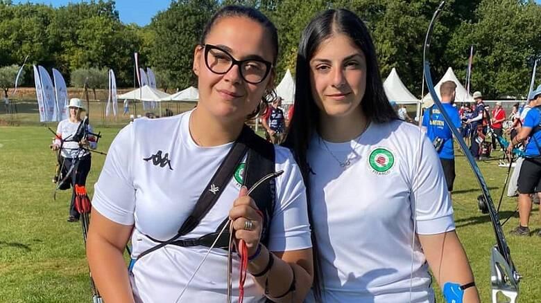 Debora Pinna ed Eleonora Meloni agli Europei di Parenzo