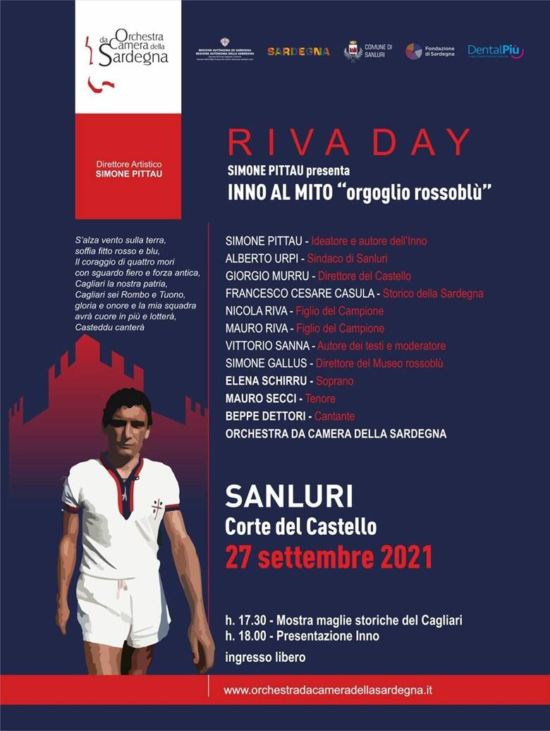 Gigi Riva Day - Sanluri 27 settembre 2021