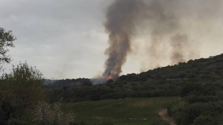 Modolo e Suni - incendio - Foto di Giovanni Mariano Biddau