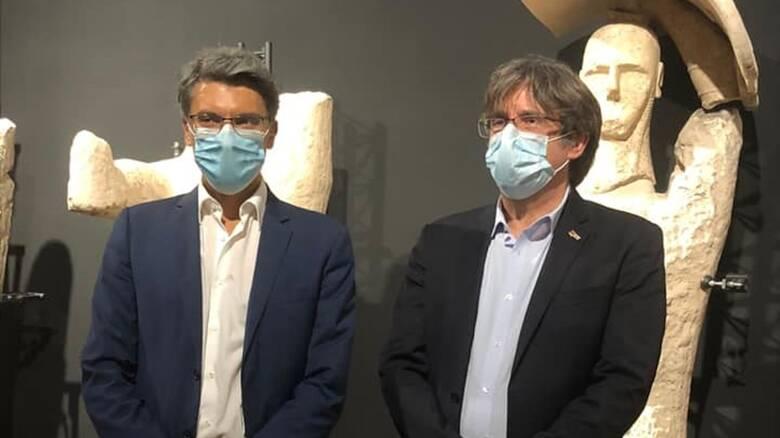 Monte Prama - Museo Cabras - Puigdemont e Abis