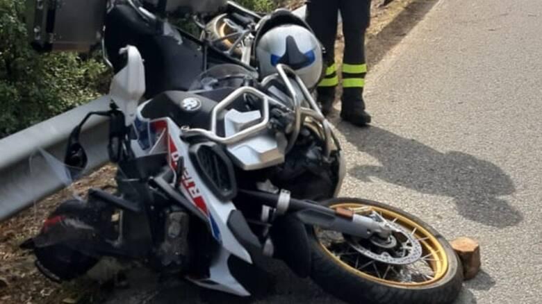 Nuorese - motociclista morto