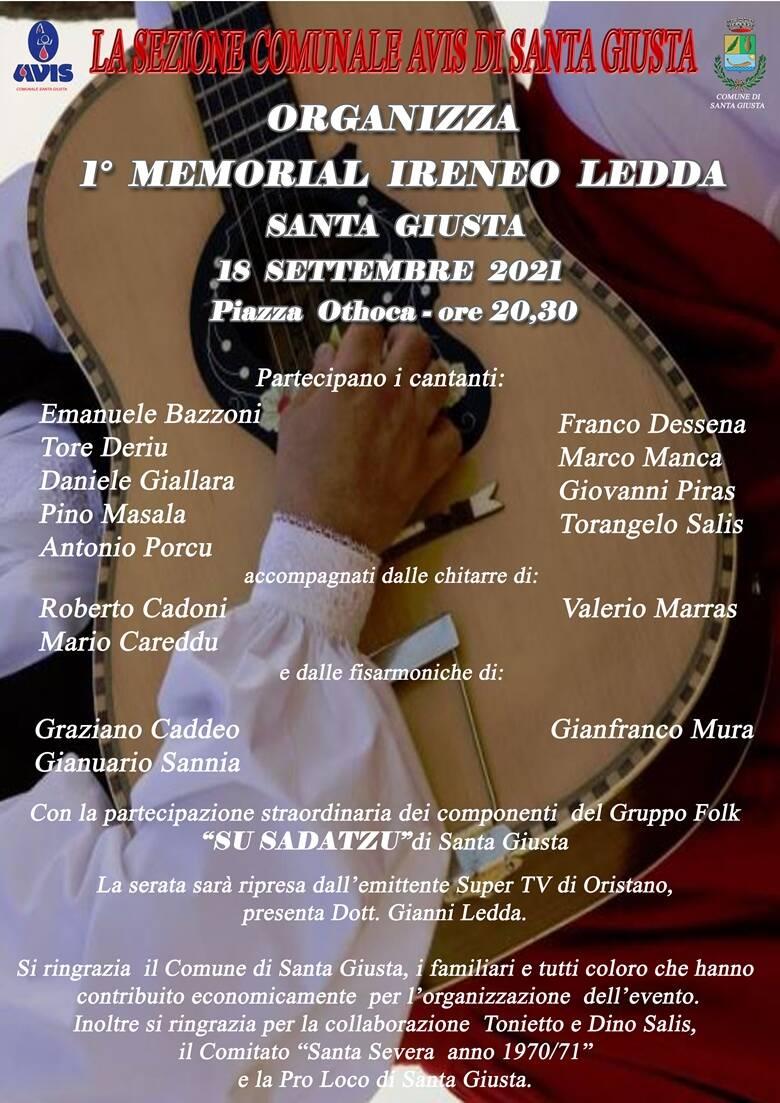 Santa Giusta - Memorial Ireneo Ledda