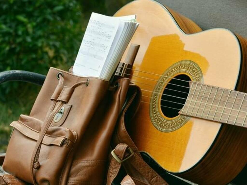 scuola di musica - chitarra - spartito