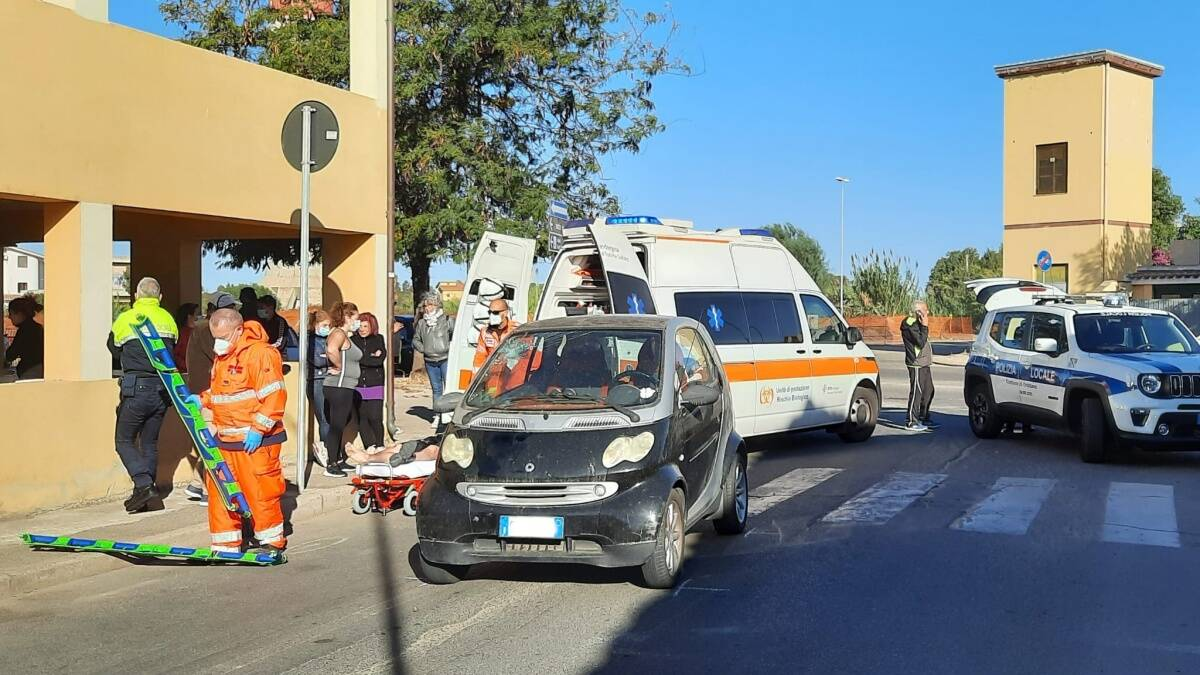 incidente stradale ottobre 2021