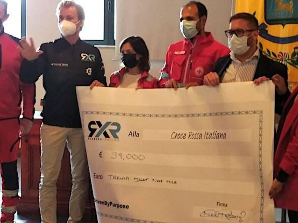 Nico Rosberg Croce Rossa Santu Lussurgiu Incendi